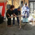 足立の家 地鎮祭